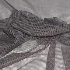 Polyesterová elastická síťovina barva šedá, oko 1x1 mm - DZ-008-101