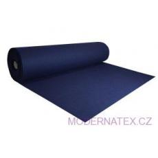 Dekorační filc 3 mm barva modrá
