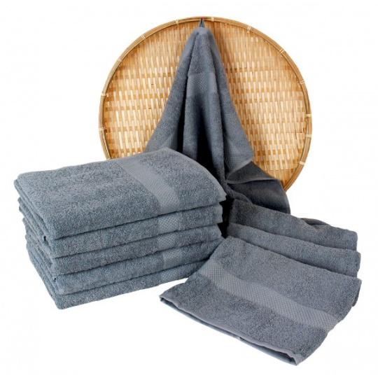 Darsi froté ručník 50x100 cm barva šedá