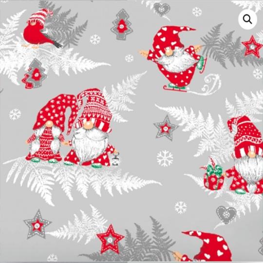 Vianočné bavlnené látky, metráž 160 cm, vzor 1133-2