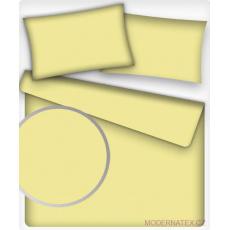 Jednofarebná bavlnená látka, farba svetlo žltá 35, metráž 160 cm