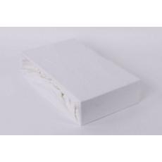 Exclusive Jersey prostěradlo - bílá 140x200 cm varianta bílá