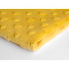 MINKY SRDÍČKA  barva žlutá 25