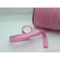 Paspulka výpustek bavlněná barva růžová 134