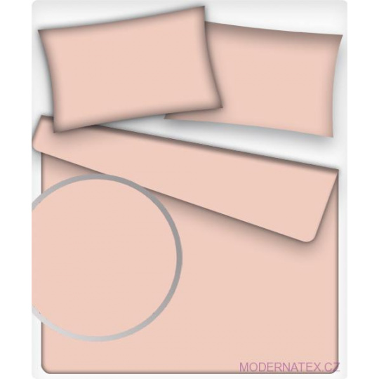Jednobarevná bavlněná látka barva LOSOS 37