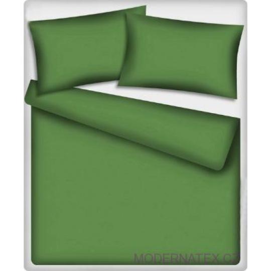 Jednobarevné bavlněné látky barva zelená 502-3