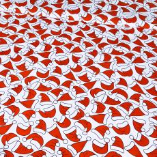 Vánoční vzory bavlněné látky, metráž 002