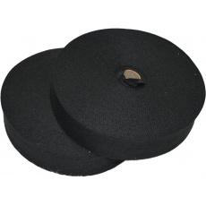Lemovací proužek  PES 40 mm  barva černá