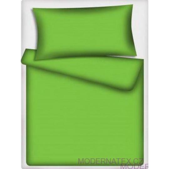 Jednobarevná bavlněná látka zelená 546-1