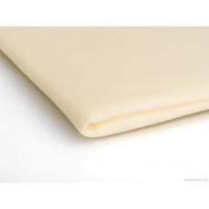 Látka Micro fleece barva ecru 02