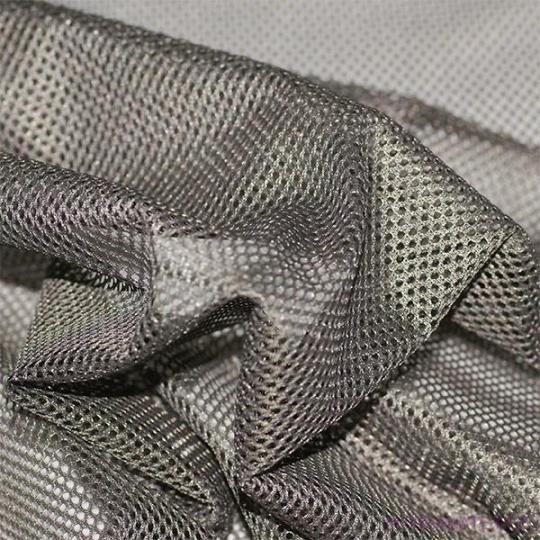 Polyesterová elastická síťovina barva tm oliva, 106 oko 1x1 mm