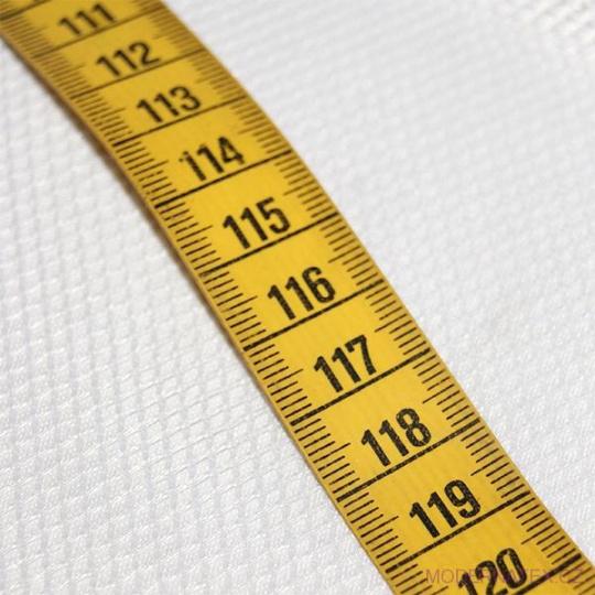 Síť polyesterová, Síťovina pro oděvů bílá - DZ-008-127  2mm x 3mm