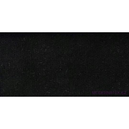 Teplákovina PREMIUM barva 8 černá   melé  220 gr