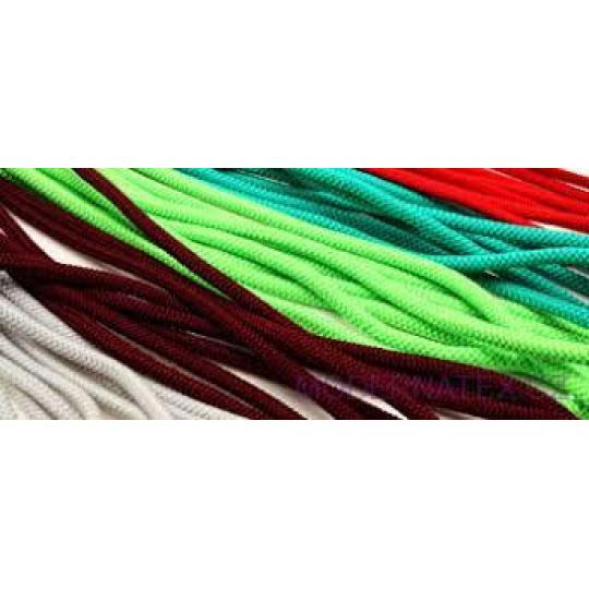 Kulatá guma barevná, 5 mm, 50 m