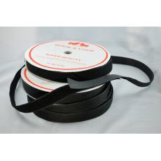 Pásek na suchý zip HÁČEK a SMYČKA SET černý 38 mm balení 25m