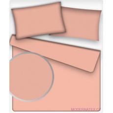 Jednofarebná bavlnená látka, farba ružová 508-4, metráž 160 cm