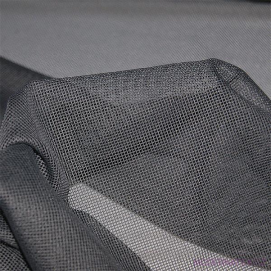 Polyesterová elastická síťovina barva šedá, oko 1x1 mm - DZ-008-135