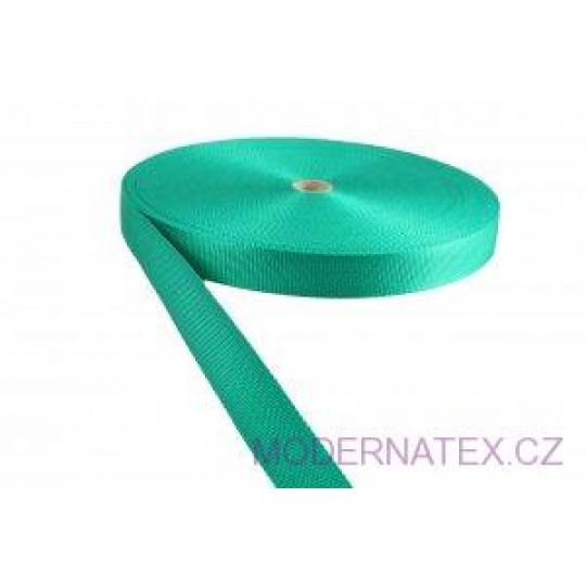 Polypropylénový popruh 30 mm mentolový (balení 50 m)
