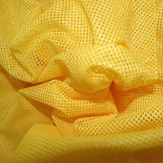 Polyesterová elastická síťovina barva žlutá, oko 1x1 mm - DZ-008-102