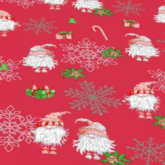 Vánoční vzory bavlněné látky, metráž 3384C