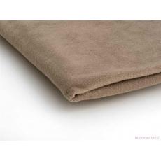 Látka Micro fleece barva bežová 04
