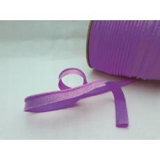 Lemovací šikmý proužek bavlněný barva fialová 164