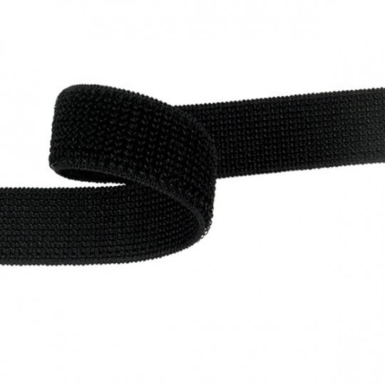 Zip elastický 30 mm barva černá  balení 25 m