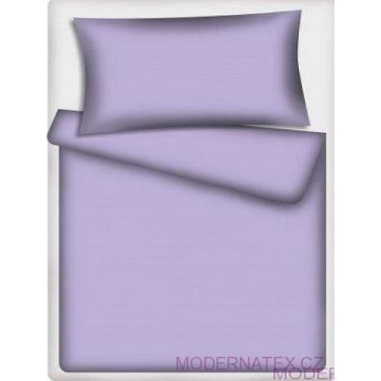 Jednobarevná bavlněné látka Sv. fialová 510-1