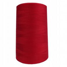 Nitě VIGA 80 do overloků 5000m barva červená 0216
