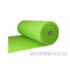 Technický filc 4 mm barva zelená