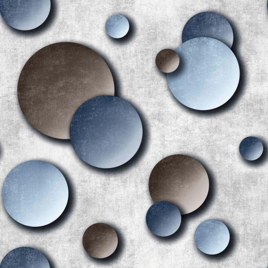 Velurové potahové látky s potiskem vzor 401047-101