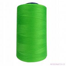 Nitě VIGA 120 do overloků 5000m barva zelená 203