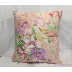 Sypkovina na polštáře a přikrývky barva růžová 220 cm