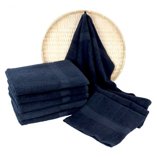 Darsi froté ručník 50x100 cm barva granatová