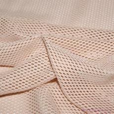 Síť polyesterová, Síťovina pro oděvů sv. béžová - DZ-008-144  4mm x 2mm