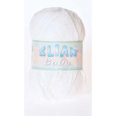 Pletací příze ELIAN BABY 208 bílá