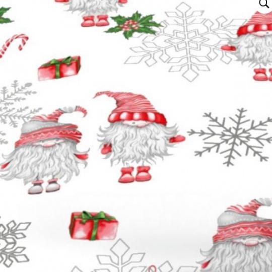 Vánoční vzory bavlněné látky, metráž 3384B