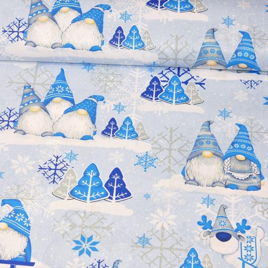 Vánoční vzory bavlněné látky, metráž vzor 1448