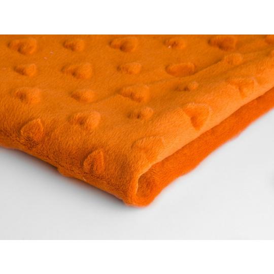 MINKY SRDÍČKA  barva pomerančová 26