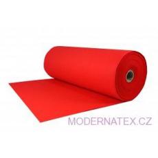 Technický filc 4 mm barva červená