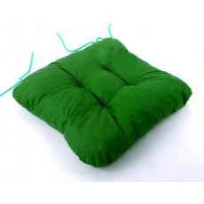 3 Sedák uni varianta zelená  40x40x5cm