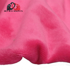 Minky mikroplyš jednobarevné barva fuchsia