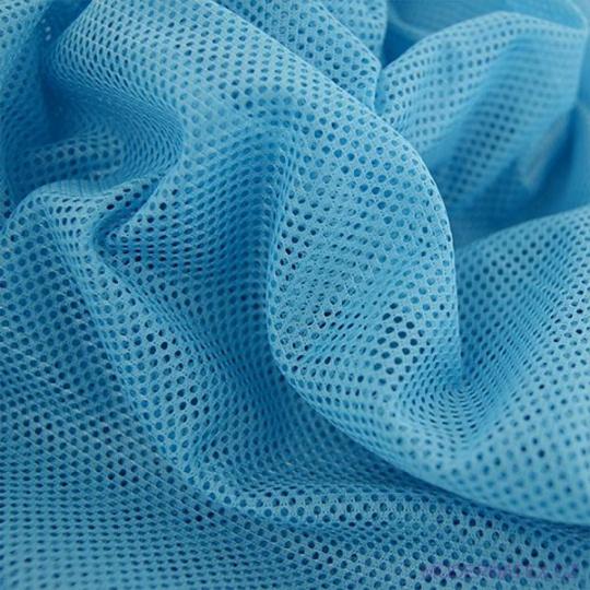 Polyesterová elastická síťovina barva mordá, oko 1x1 mm- DZ-008-105