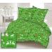 Vánoční vzory bavlněné látky, SKANDINÁVSKÝ VZOR 1 na zeleném