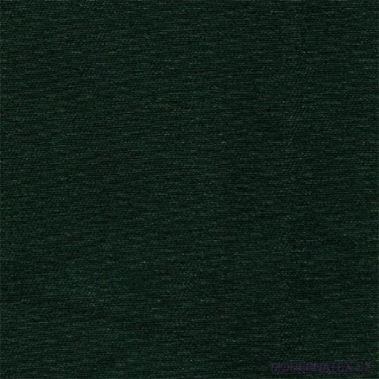 Bavlněný kepr BV NORD 245x11 TMAVĚ ZELENÁ