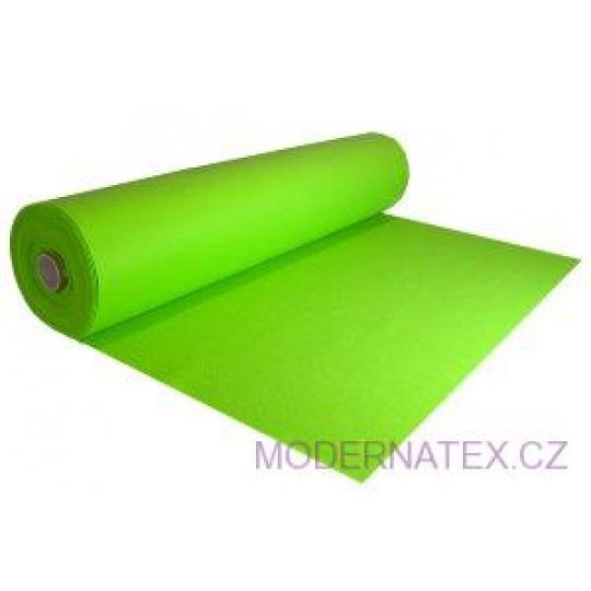 Dekorační filc 3 mm barva zelená