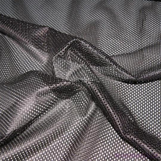 Síť polyesterová, Síťovina pro oděvů fialovo hnědá - DZ-008-143  2mm x 2mm