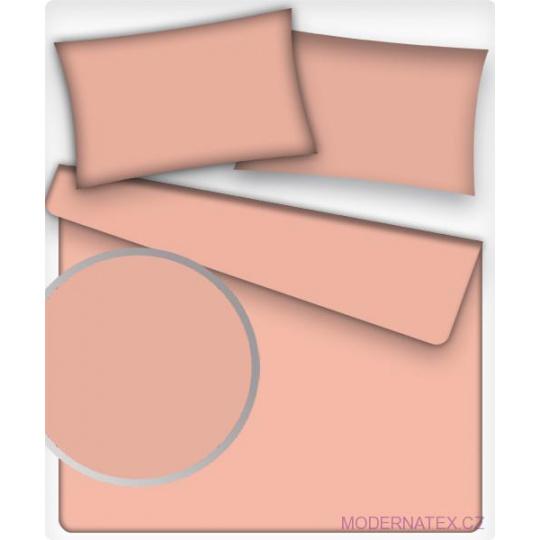 Jednobarevné bavlněné látky barva růžová 508-4