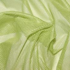 Polyesterová elastická síťovina barva zelená, oko 2x2 mm