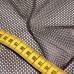 Síť polyesterová, Síťovina pro oděvů tm. hnědá - DZ-008-154  3mm x 3mm